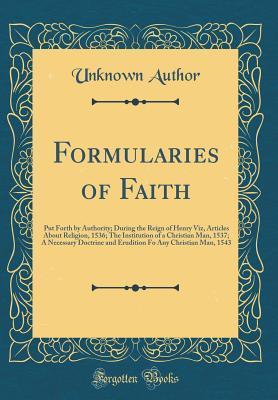 Formularies of Faith