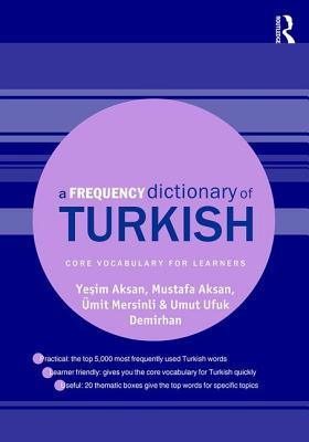 A Frequency Dictionary of Turkish