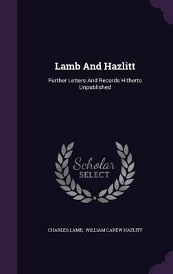 Lamb and Hazlitt