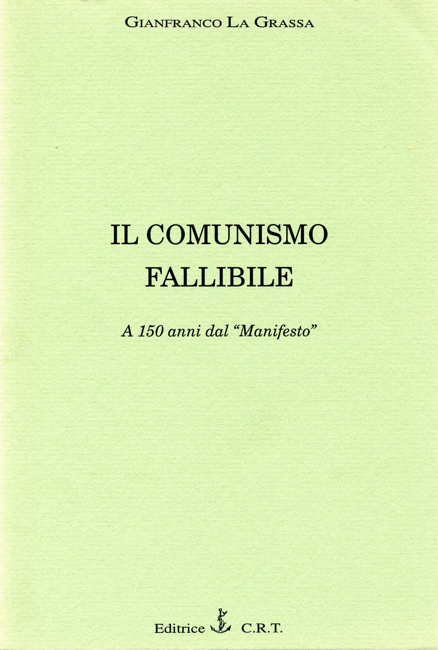 Il comunismo fallibile