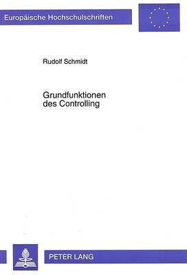 Grundfunktionen des Controlling