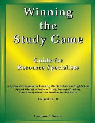 Winning the Study Game Guide for Resource Specialists
