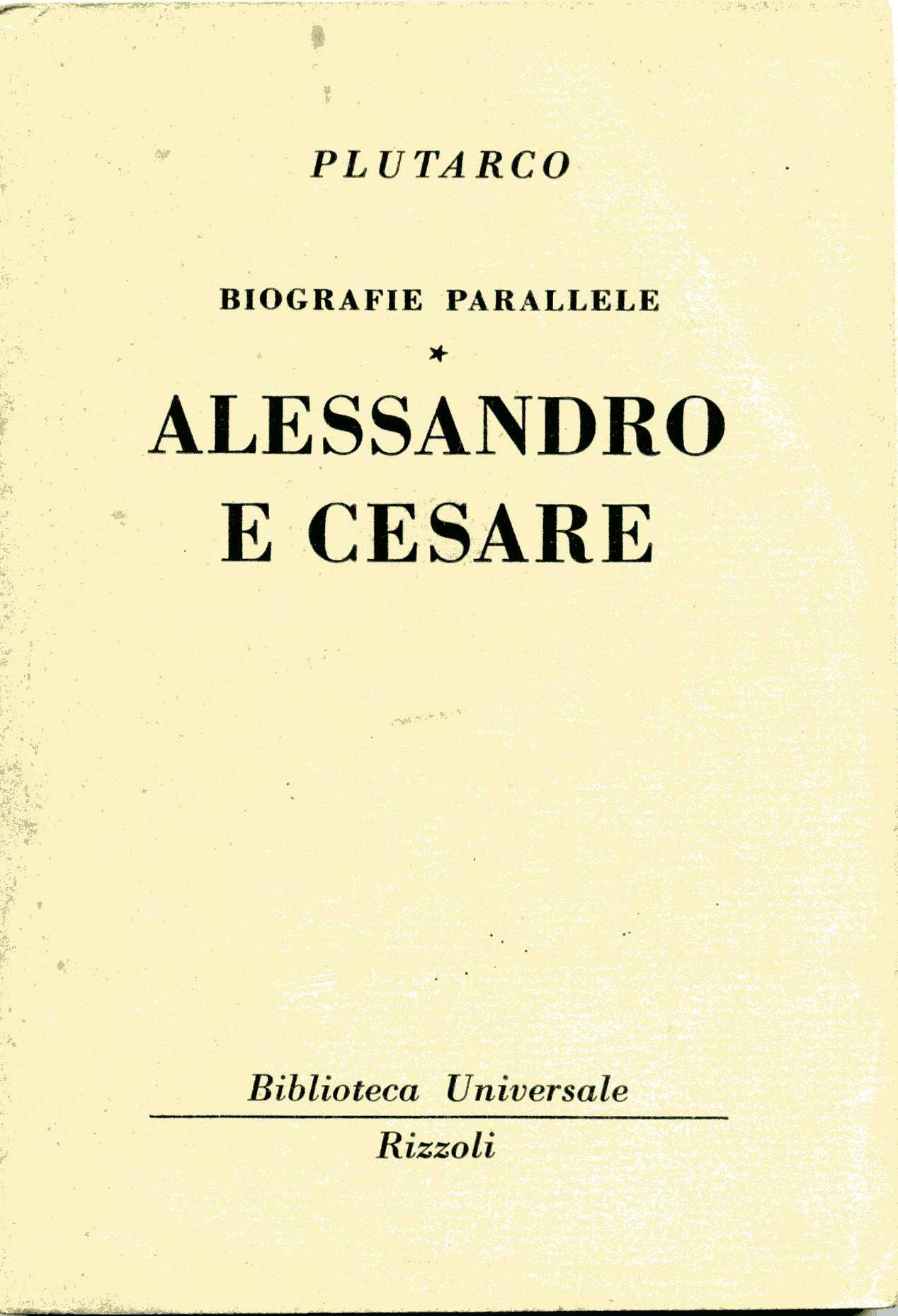 Alessandro e Cesare