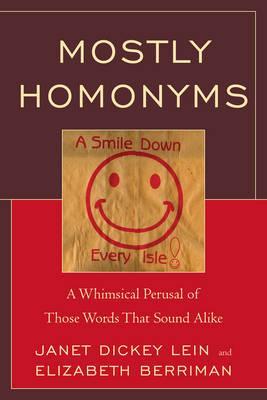 Mostly Homonyms