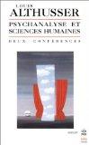 Psychanalyse et sciences humaines