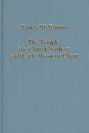 The Temple, the Church Fathers, and Early Western Chant