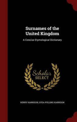 Surnames of the United Kingdom