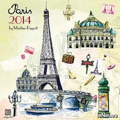 Paris 2014 Broschürenkalender