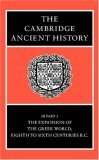 The Cambridge Ancient History Volume 3, Part 3