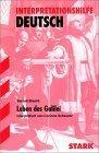 Leben des Galilei. Interpretationshilfe Deutsch.