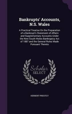 Bankrupts' Accounts, N.S. Wales