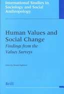 Human values and social change
