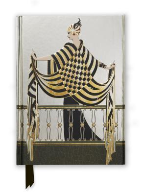 Erté the Balcony Foiled Journal