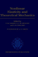 Non-linear Elasticity and Theoretical Mechanics