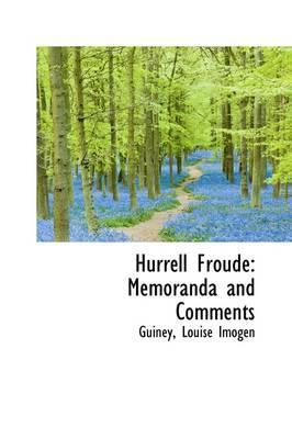 Hurrell Froude