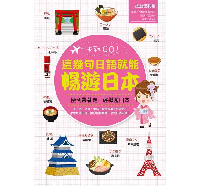 一本就GO!這幾句日語就能暢遊日本(書+1地鐵圖)