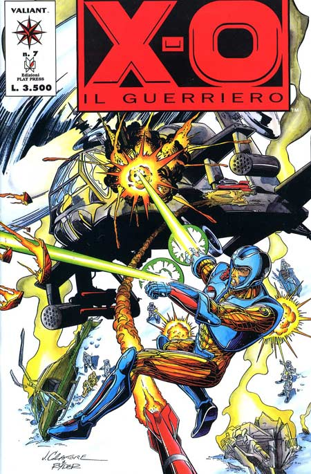 X-O: Il guerriero n....