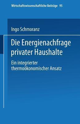 Die Energienachfrage Privater Haushalte
