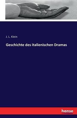 Geschichte des italienischen Dramas