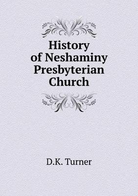 History of Neshaminy Presbyterian Church