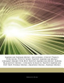Articles on American Indian Music, Including