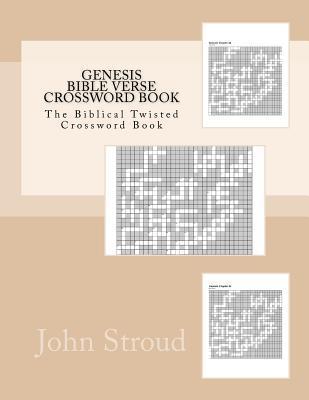Genesis Bible Verse Crossword Book