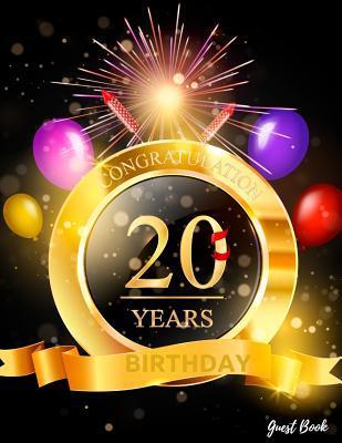 Congratulation 20 Ye...