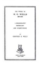 Wells/wks Wells 1887-1925