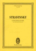 Concerto en ré for violin and orchestra