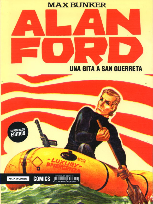 Alan Ford Supercolor Edition n. 7