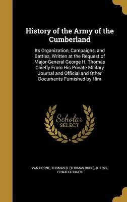 HIST OF THE ARMY OF THE CUMBER