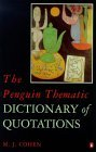 Penguin Thematic Dict of Quotation
