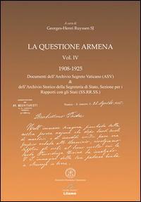 La questione armena 1908-1925