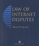 Law of Internet Disputes