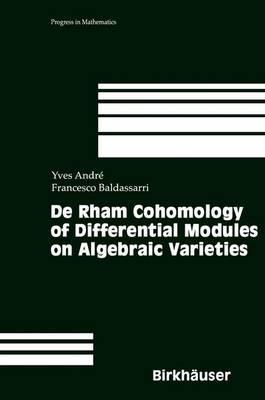 De Rham Cohomology of Differential Modules on Algebraic Varieties