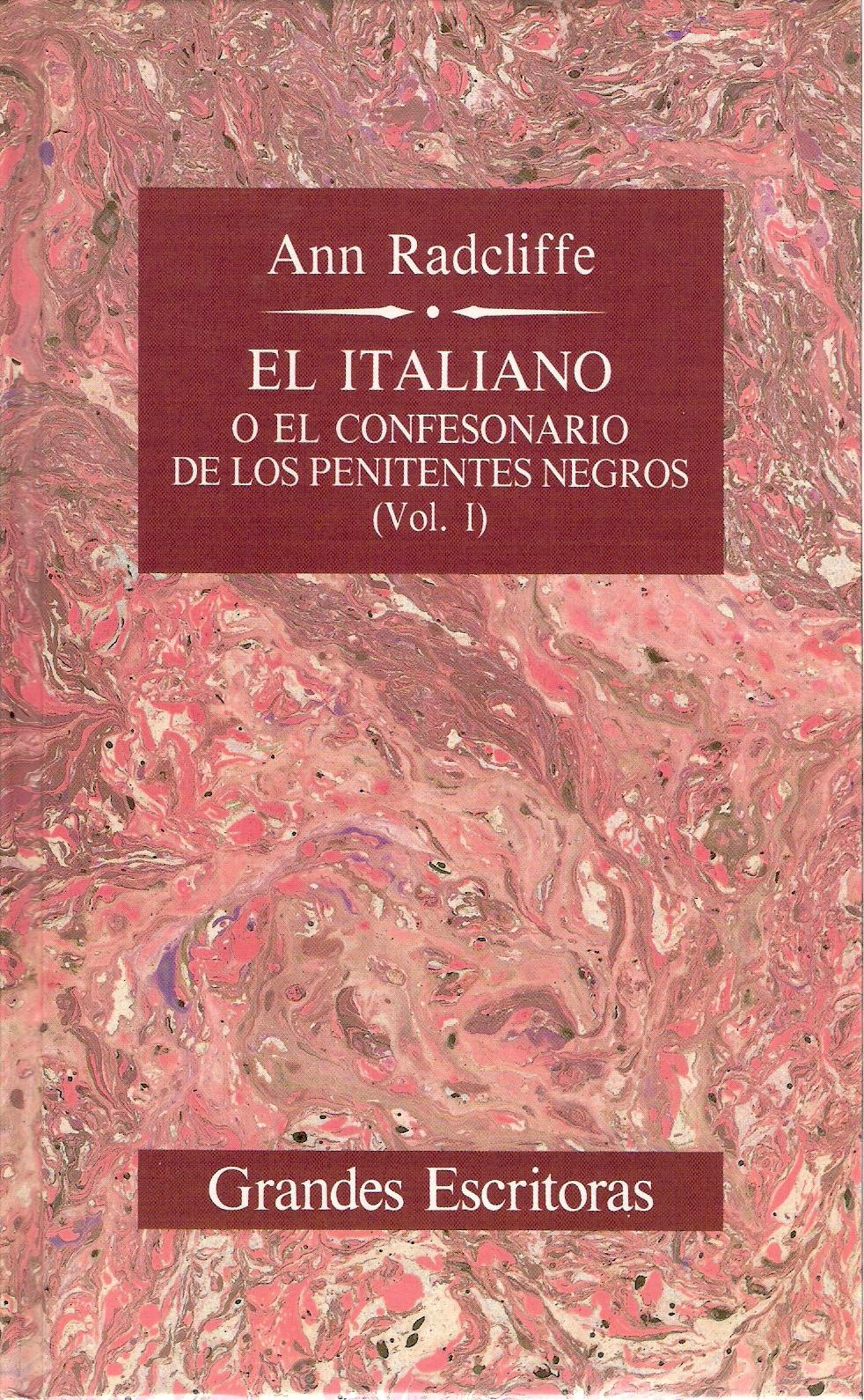 El Italiano o el confesionario de los penitentes negros I