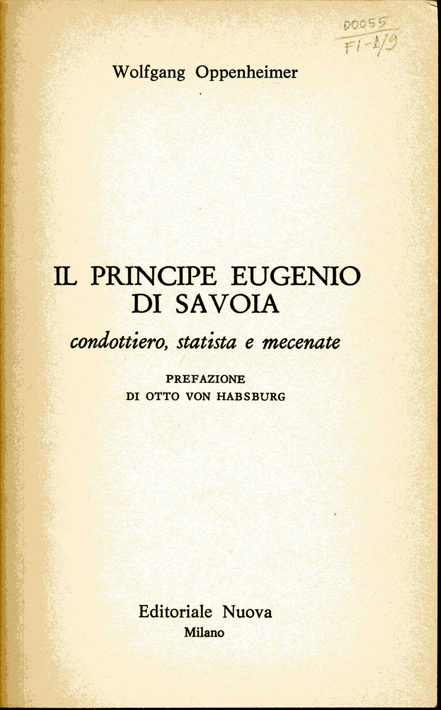 Il principe Eugenio di Savoia