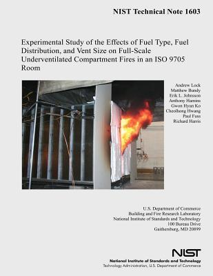 Experimental Study of the Effects of Fuel Type, Fuel Distribution, and Vent Size on Full-scale Underventilated Compartment Fires in an Iso 9705 Room