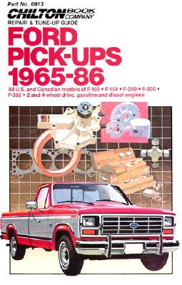 Chilton's Ford Pickups, 1965-86
