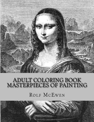 Masterpieces of Painting Adult Coloring Book