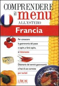 Dizionario del menu per i turisti