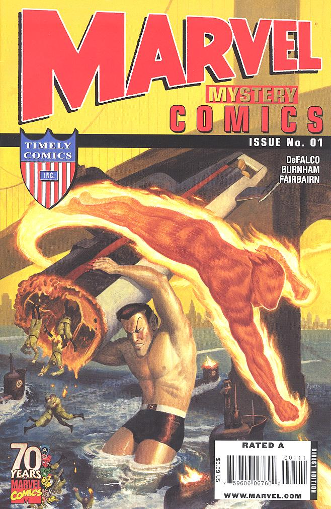 Marvel Mystery Comics 70th Anniversary Special Vol.1 #1