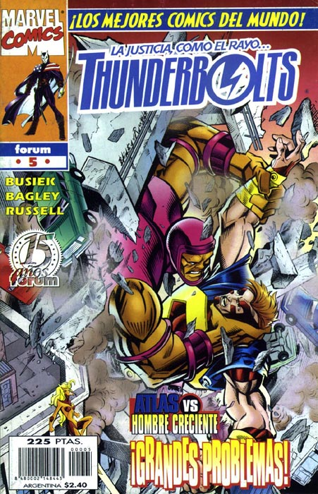 Thunderbolts Vol.1 #5 (de 40)