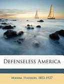 Defenseless America