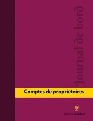 Comptes De Propriétaires Journal De Bord