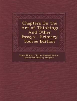 Chapters on the Art of Thinking