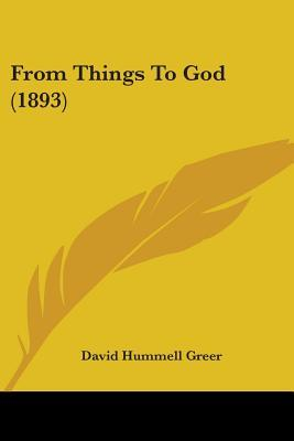 From Things to God (1893)