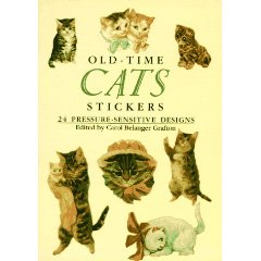 Old-Time Cats Stickers