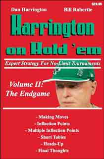 Harrington on Hold'em Expert Strategy for No Limit Tournaments