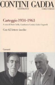 Carteggio 1934-1963
